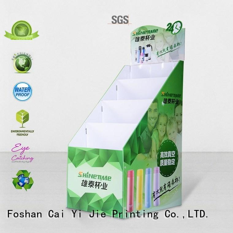 special floor display stair for electronic lights for grids CAI YI JIE