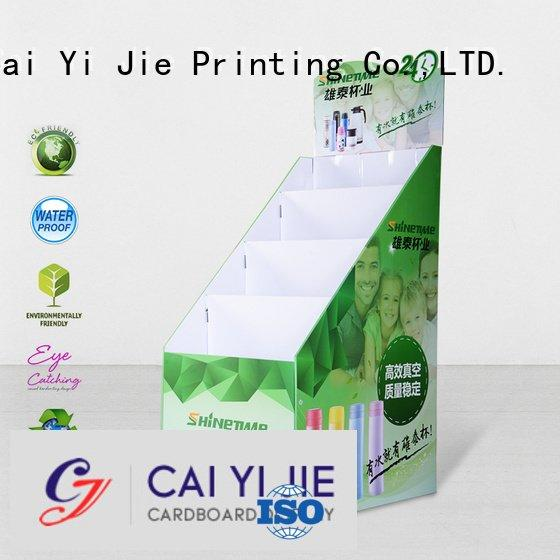 stair clip cardboard stand color CAI YI JIE