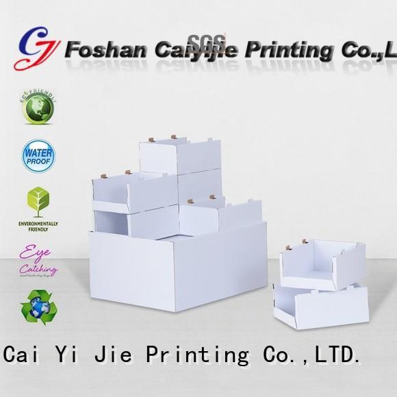 cardboard pallet display cardboard Bulk Buy plastic CAI YI JIE