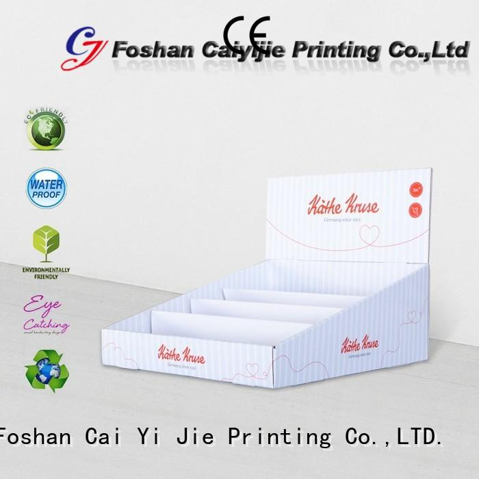 commodity custom cardboard display boxes factory price for supermarkets