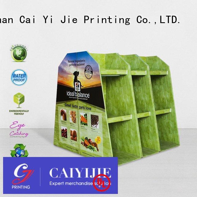 plastic product carton clip CAI YI JIE pallet display