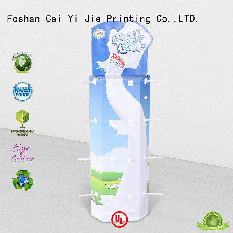 CAI YI JIE best quality power wing display for goods