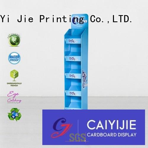 cardboard poster stand cardboard for beer CAI YI JIE