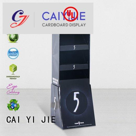 Quality counter hook display stand CAI YI JIE Brand advertising hook display stand