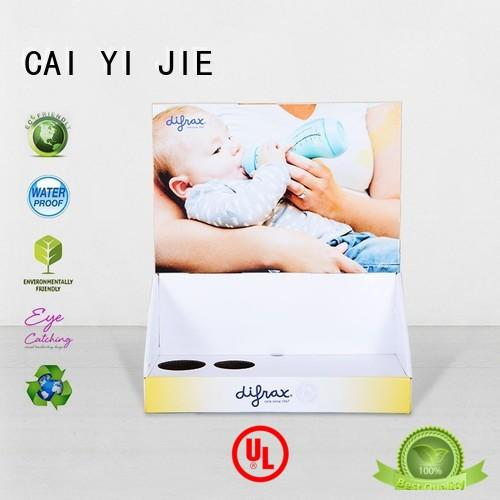 display boxes cardboard display boxes stands CAI YI JIE