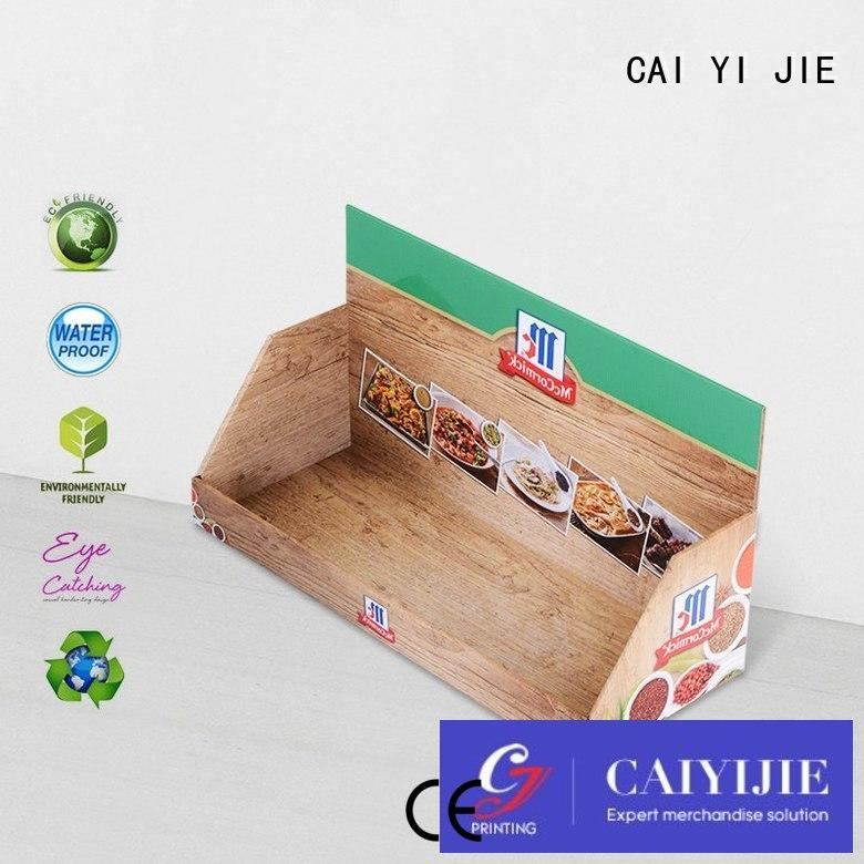 CAI YI JIE counter pos display box inquire now for marketing