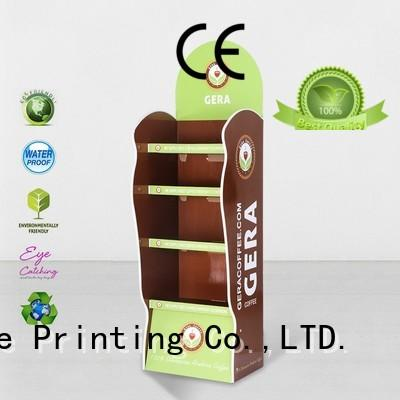 CAI YI JIE stainless tube point of sale display uv for promotion