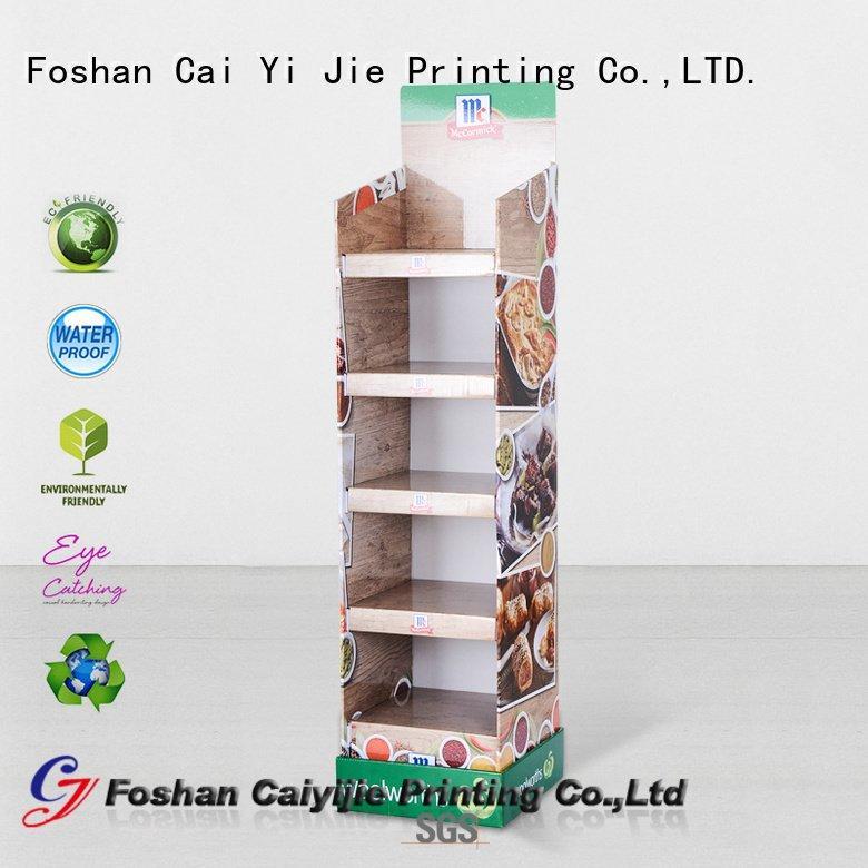CAI YI JIE cardboard cardboard stand tube display