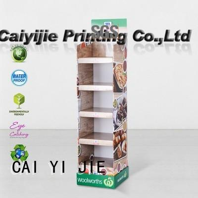multifunctional point of purchase displays stands for kitchen supplies