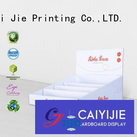 CAI YI JIE cardboard display boxes factory price for products