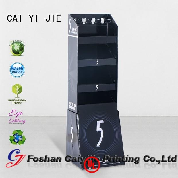 step hook display stand for perfume CAI YI JIE