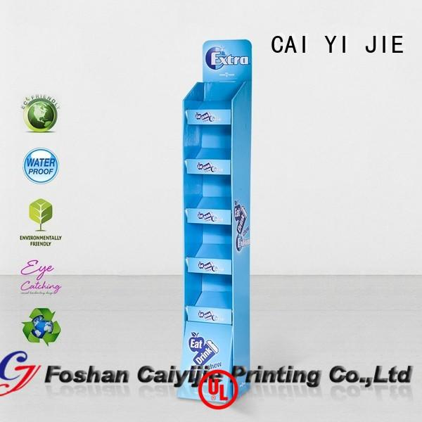 cardboard book display special fordrink CAI YI JIE
