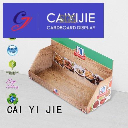 custom cardboard counter displays marketing display cardboard display boxes