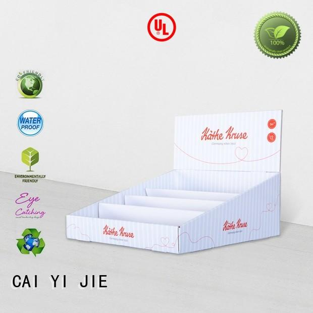 CAI YI JIE counter small cardboard boxes stands boxes for marketing