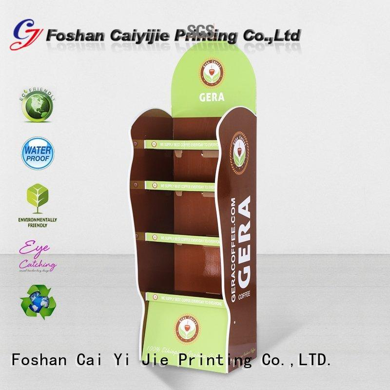 heavy cardboard pop up display stands shelve for electronic lights for grids