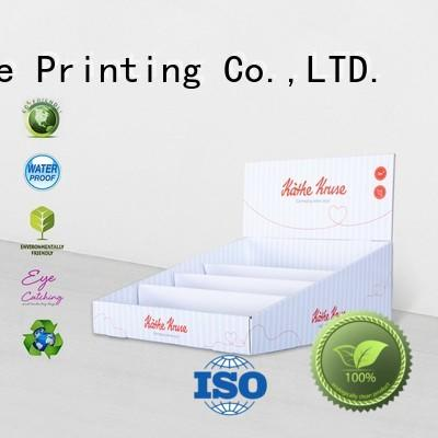CAI YI JIE printed cardboard retail display boxes cardboard factory price for units chain