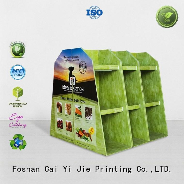 promotional corrugated cardboard pallets pos for chain store