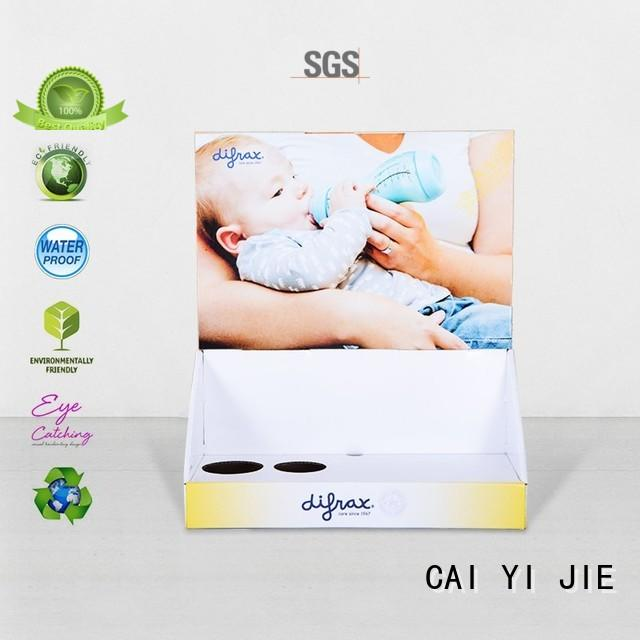 CAI YI JIE cardboard book display boxes hot-sale for stores