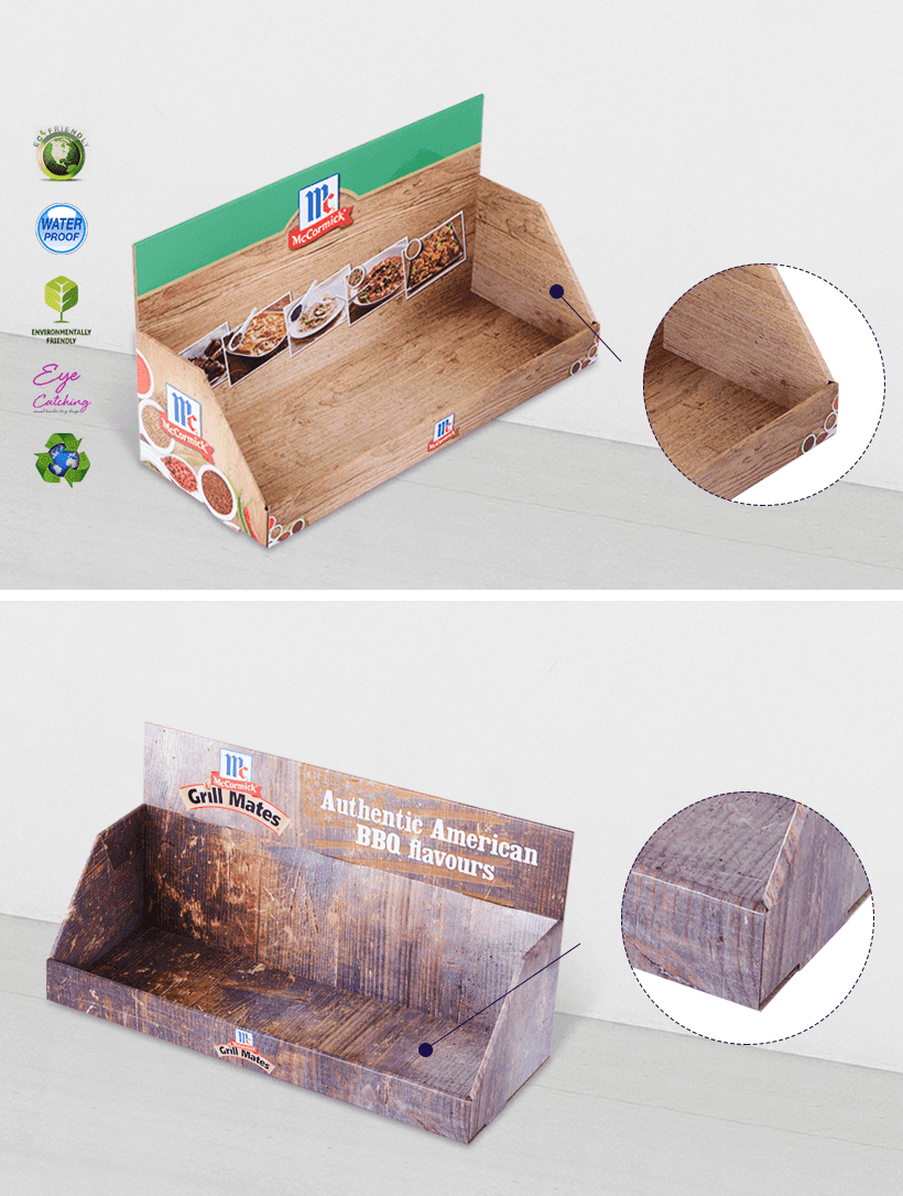 commodity cardboard display boxes stands boxes for supermarkets-2