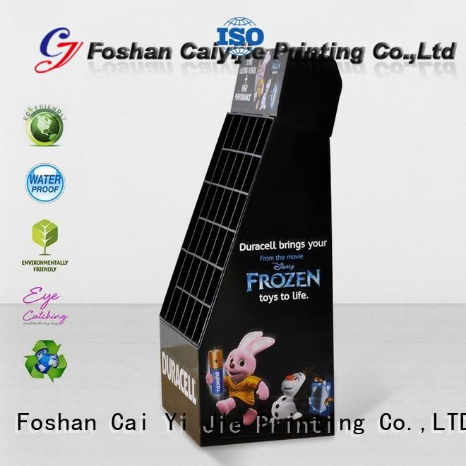 CAI YI JIE heavy point of sale display stands sale for store