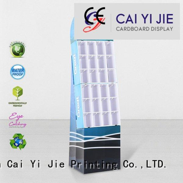 sale printing stands hook display stand CAI YI JIE