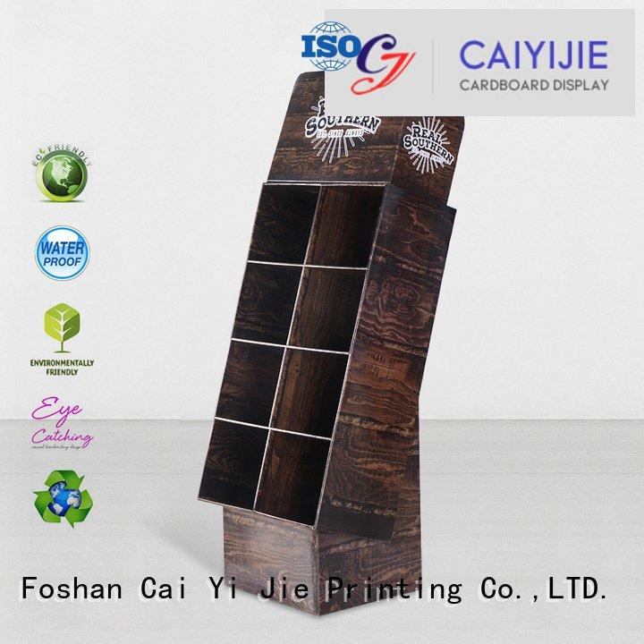 Wholesale sale stand cardboard stand CAI YI JIE Brand