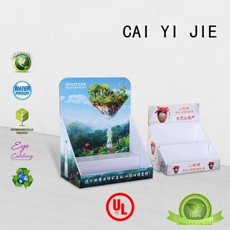 CAI YI JIE custom cardboard display boxes hot-sale for products