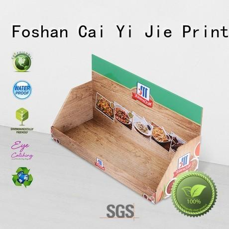 CAI YI JIE counter top custom cardboard display boxes hot-sale for products