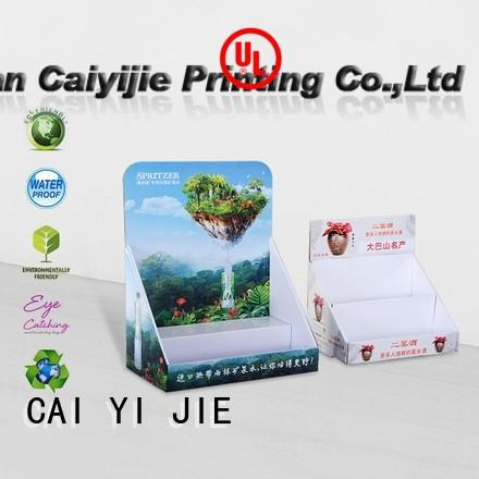 CAI YI JIE universal cardboard display boxes suppliers hot-sale for marketing
