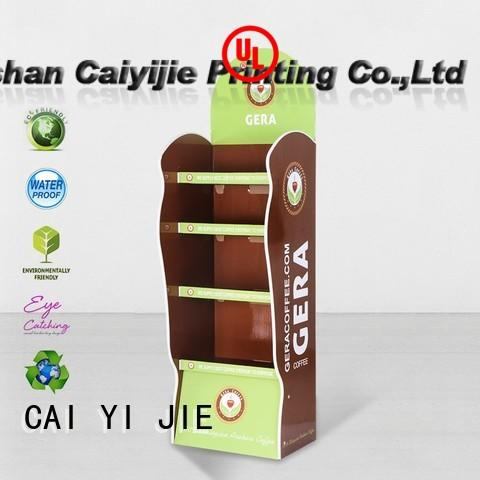point stand space cardboard stand step CAI YI JIE Brand