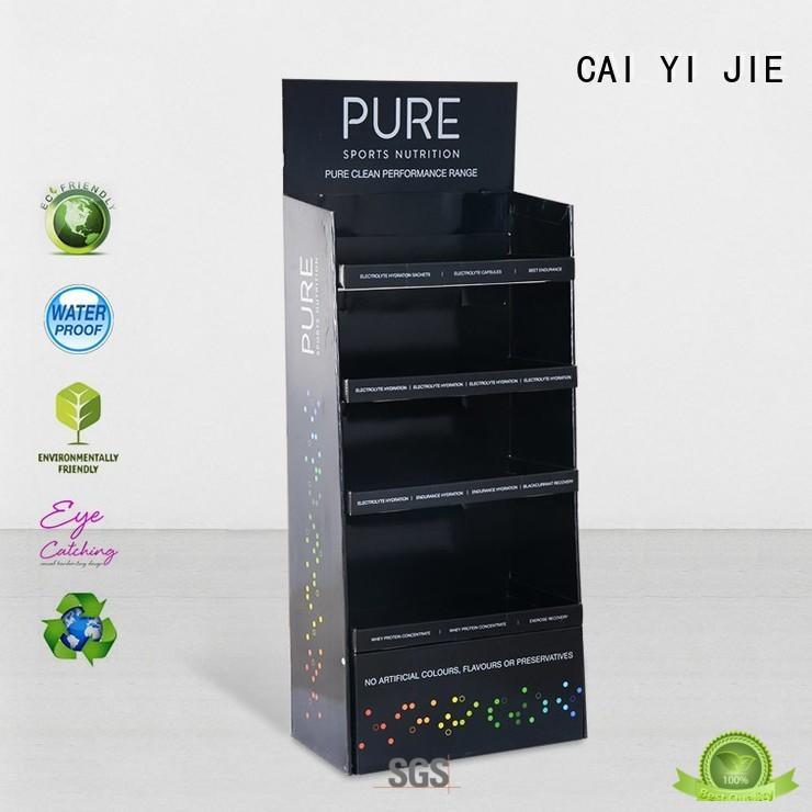 cardboard floor stand CAI YI JIE
