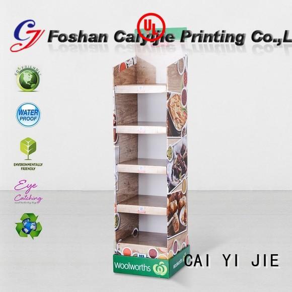 custom display dumpbin for store CAI YI JIE