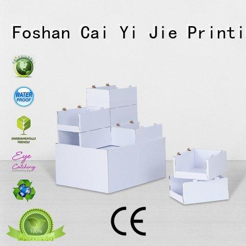carton corrugated CAI YI JIE cardboard pallet display