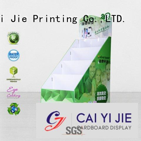 CAI YI JIE Brand stores cardboard color cardboard stand stand
