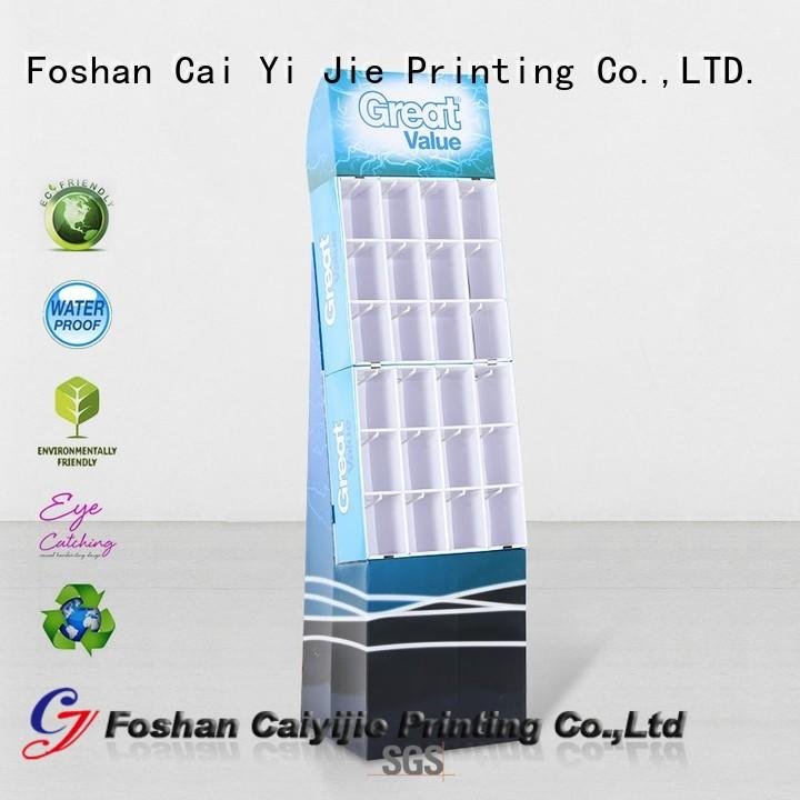 CAI YI JIE OEM hook display stand manufacturer for phone accessories