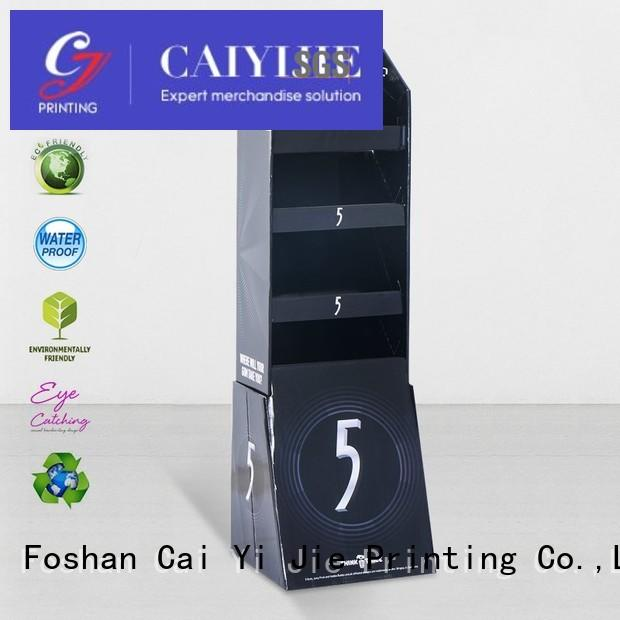 CAI YI JIE custom cardboard products manufacturer for supermarket