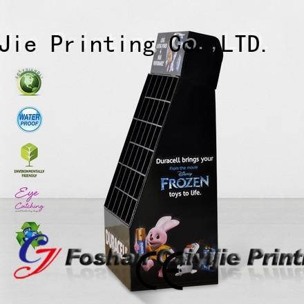 CAI YI JIE promotional cardboard display racks cardboard for milk