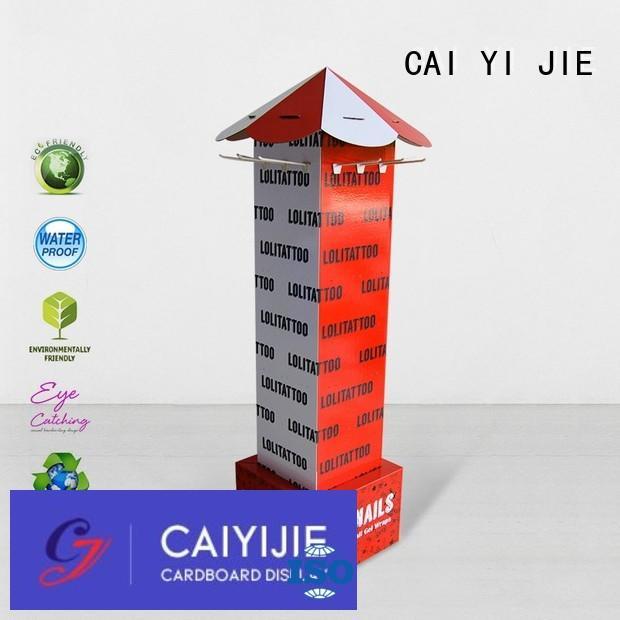 Hot counter hook display stand supermarket CAI YI JIE Brand