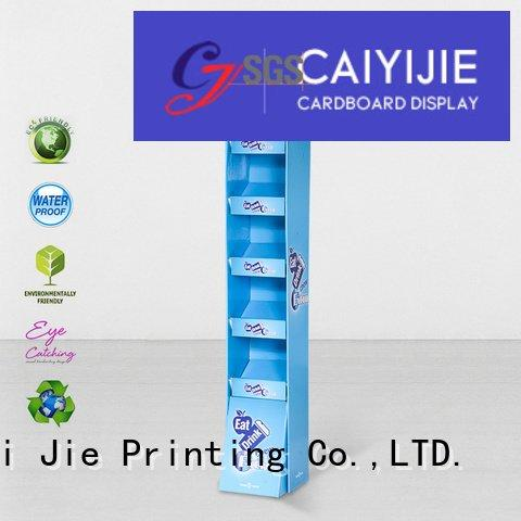 CAI YI JIE clip cardboard stand pop products