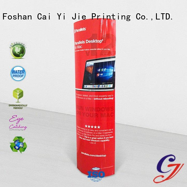 Custom advertising lama display cardboard lama display