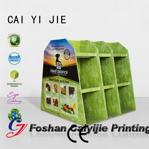 CAI YI JIE cardboard pallet display woolworths for stores