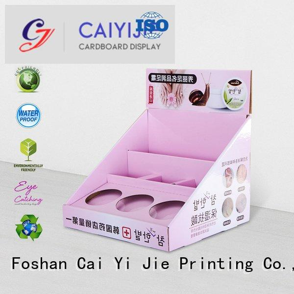 custom cardboard counter displays product printed displays countertop