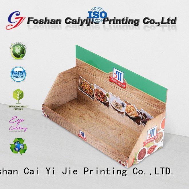 displays cardboard CAI YI JIE cardboard display boxes