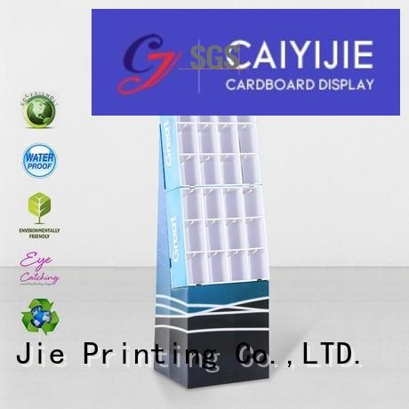 CAI YI JIE printing cardboard newspaper stands inquire now for phone accessories