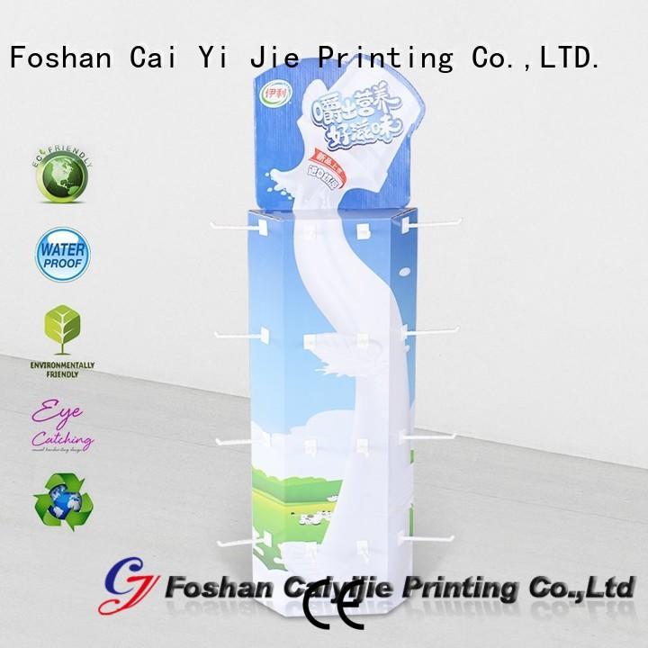 CAI YI JIE custom corrugated cardboard displays manufacturer for marketing