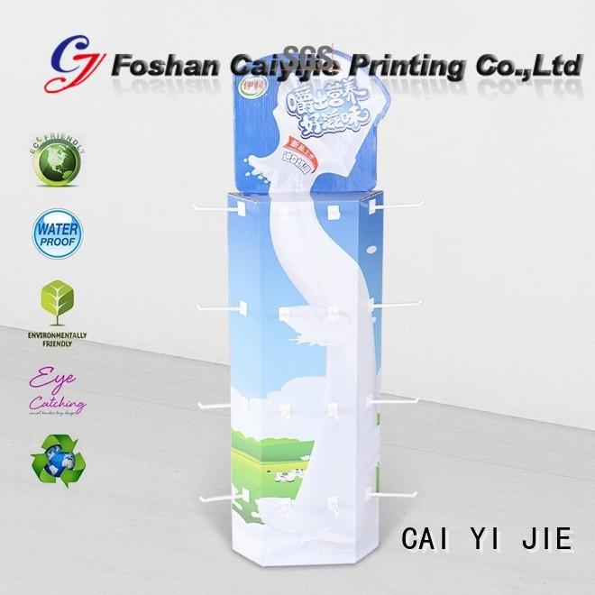 CAI YI JIE power wing display company for products