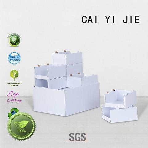 cardboard pallet display carton pos CAI YI JIE Brand