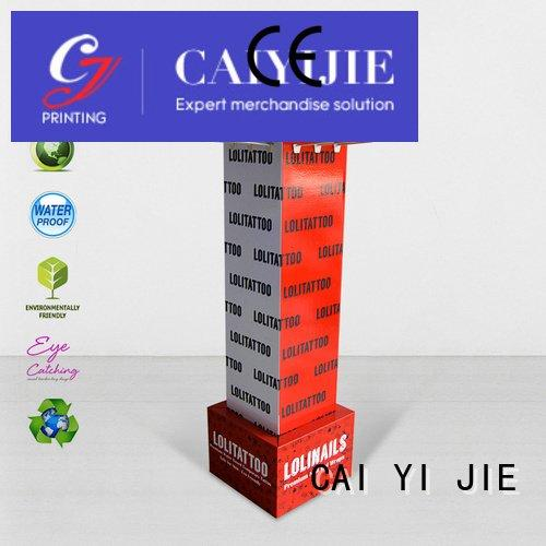 counter hook display stand stair hook display stand printing CAI YI JIE