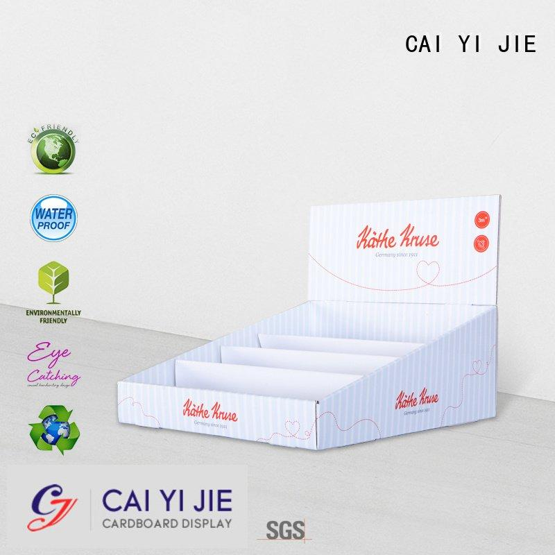 CAI YI JIE boxes grocery cardboard display boxes countertop marketing