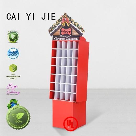 displays cardboard display units soft for supermarket CAI YI JIE